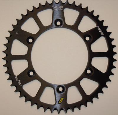 Sunstar 5-361951 Works Triplestar 51-Teeth 520 Chain Size Rear Aluminum Sprocket