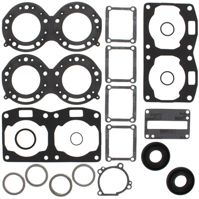 Winderosa 811237 Gasket Kit with Oil Seals